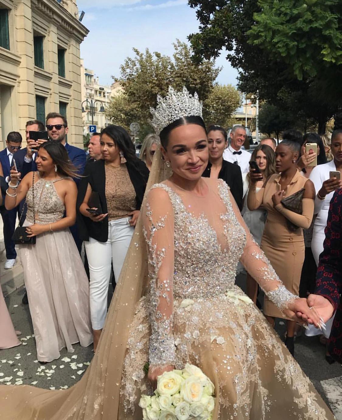 Jazz et Laurent se sont mariés ce week-end