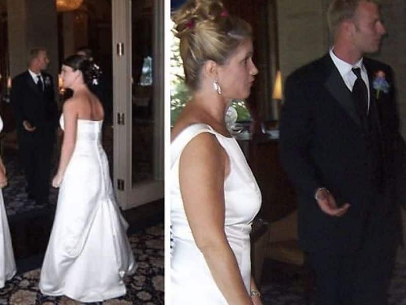 Sa belle-mère vient à son mariage en robe