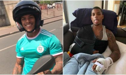 Marvin raconte son accident de moto