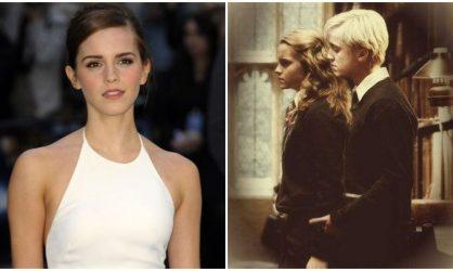 Emma Watson : sa romance avec Tom Felton, l'interprète de Drago Malefoy