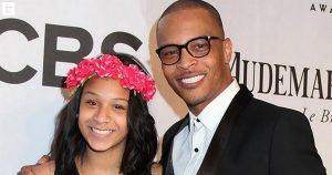 T.I et sa fille