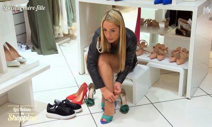 Les Reines du Shopping : une candidate se met à parler à ses chaussures, la vendeuse n'en revient pas