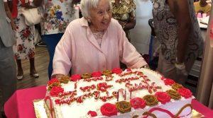 À 107 ans elle est radieuse !