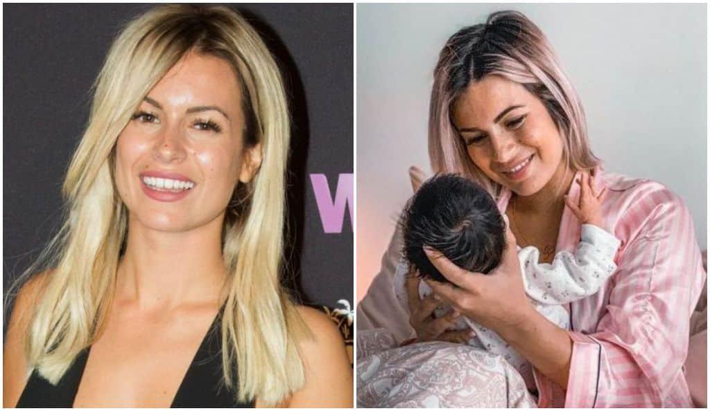 Carla Moreau : elle annonce que sa fille Ruby de 2 mois fait déjà presque plus d'1 mètre