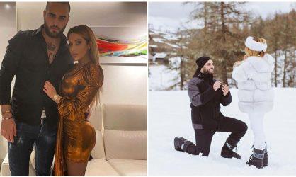 Nikola Lozina demande Laura Lempika en mariage