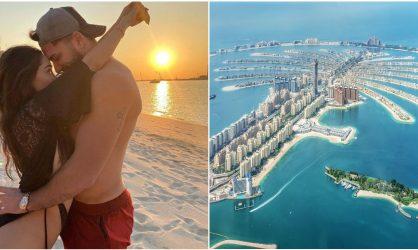 Nabilla et Thomas Vergara : leur magnifique salon à Dubaï presque terminé, la toile est conquise