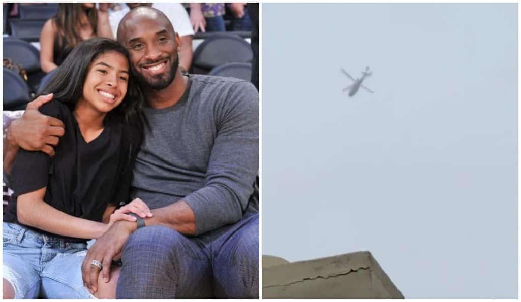 Mort de Kobe Bryant : cette vidéo de son hélicoptère filmé juste avant le drame