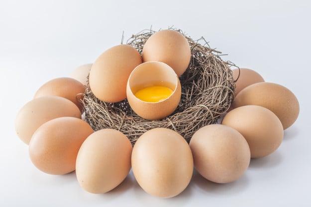 Il verse un jaune d'œuf dans la bouche de sa femme !