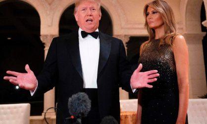 Melania Trump toujours aussi superbe !