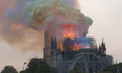 Notre-Dame de Paris victime des flammes !