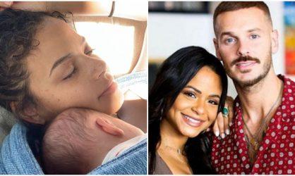 Christina Milian et M. Pokora : la chanteuse se confie sur leurs premiers jours de jeunes parents