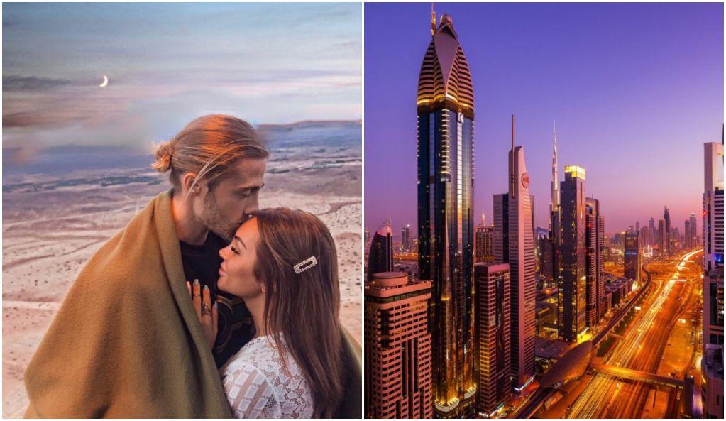 Fidji Ruiz et Dylan Thiry montrent en images leur luxueuse villa à Dubaï