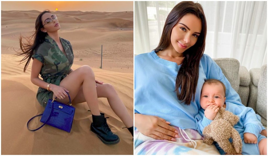Nabilla Vergara «à bout» : elle montre une drôle de bêtise de son fils Milann