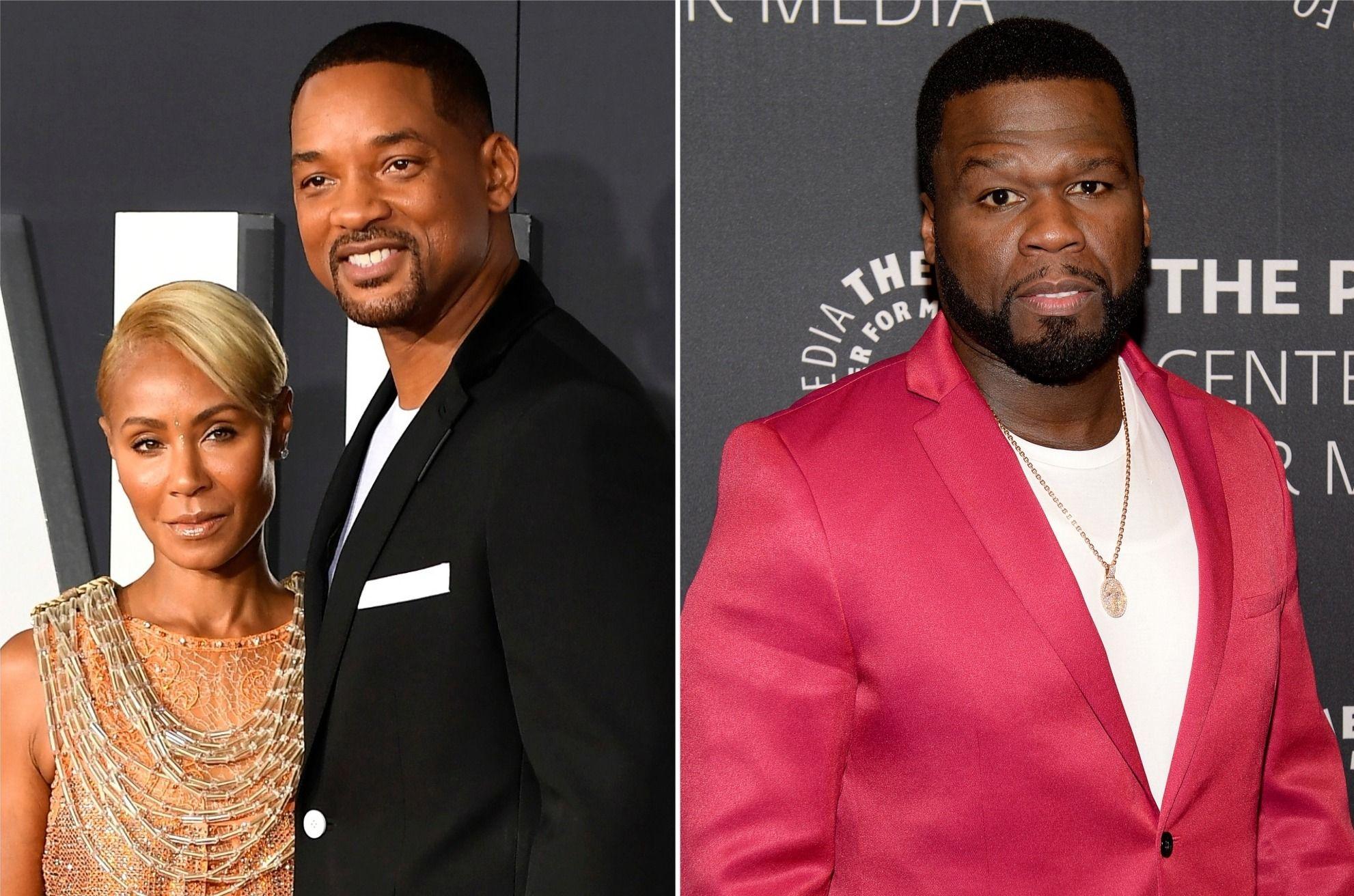 50 cent : il critique Jada Smith sur son histoire de tromperie et provoque Will Smith qui lui répond sévèrement