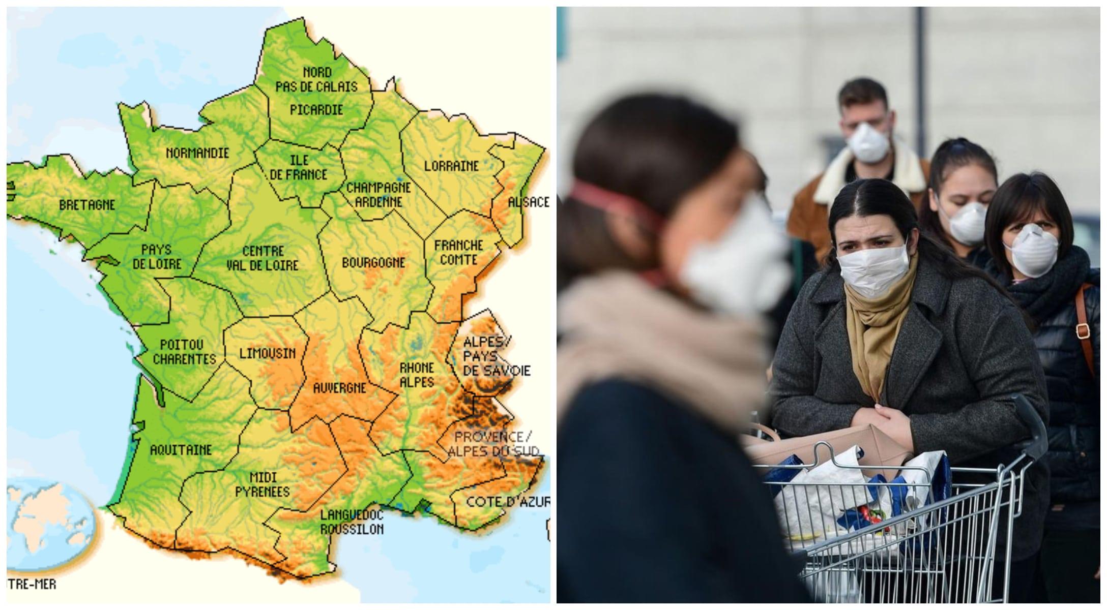 Coronavirus : ces régions de France qui risquent le reconfinement
