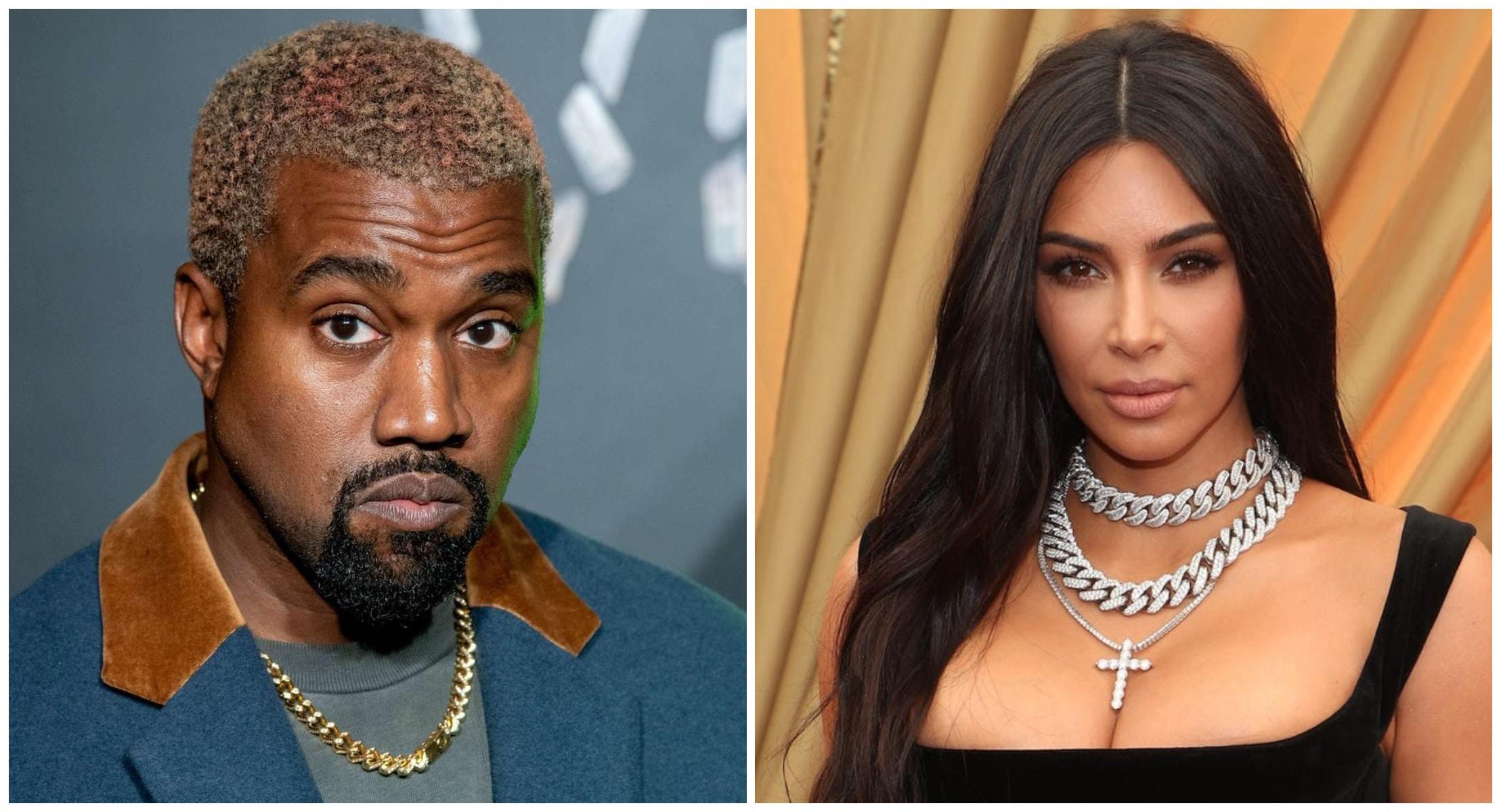 Kanye West perd pied : il accuse sa femme Kim Kardashian de vouloir l'interner