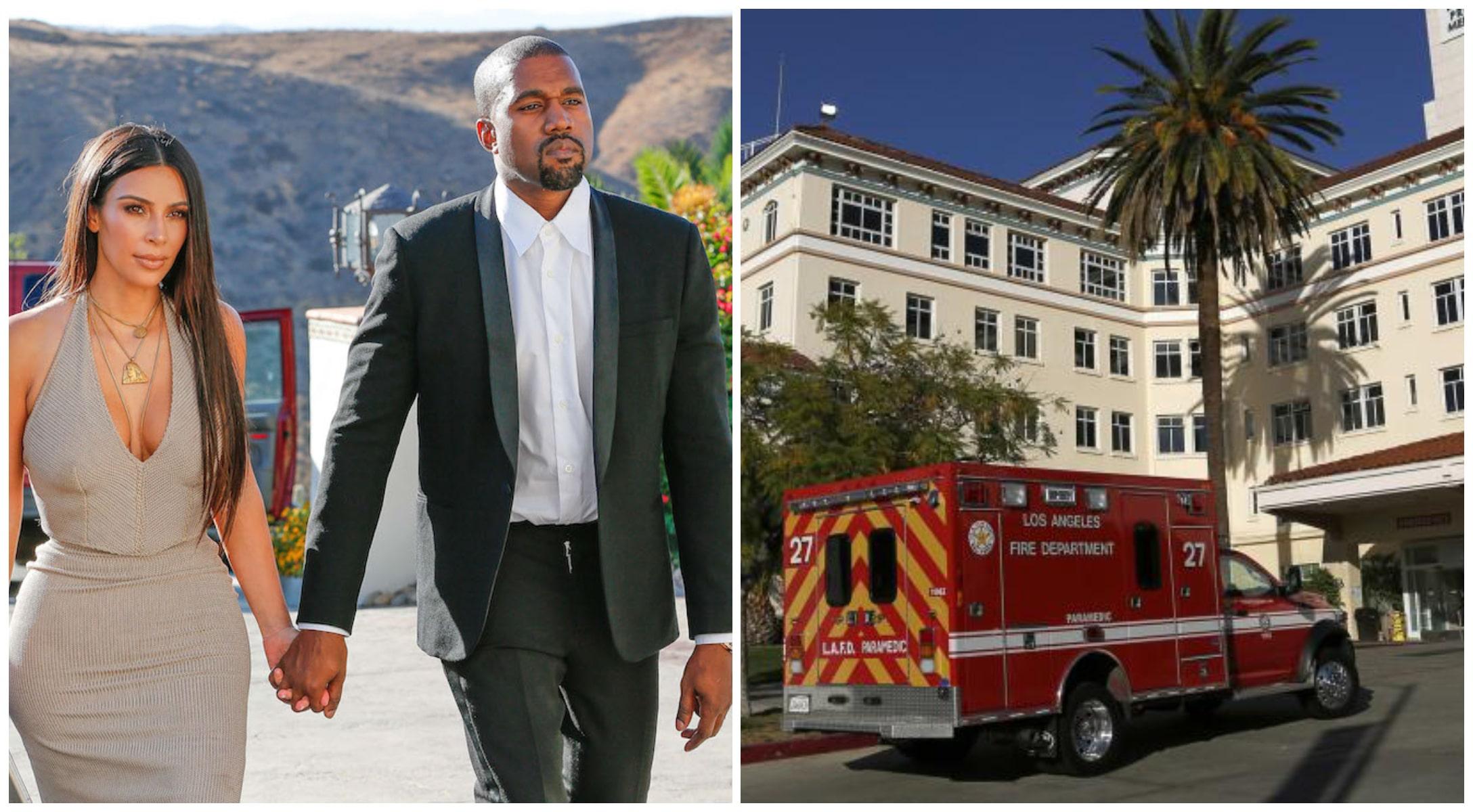 Kanye West : conduit aux urgences après ses excuses publiques envers Kim Kardashian