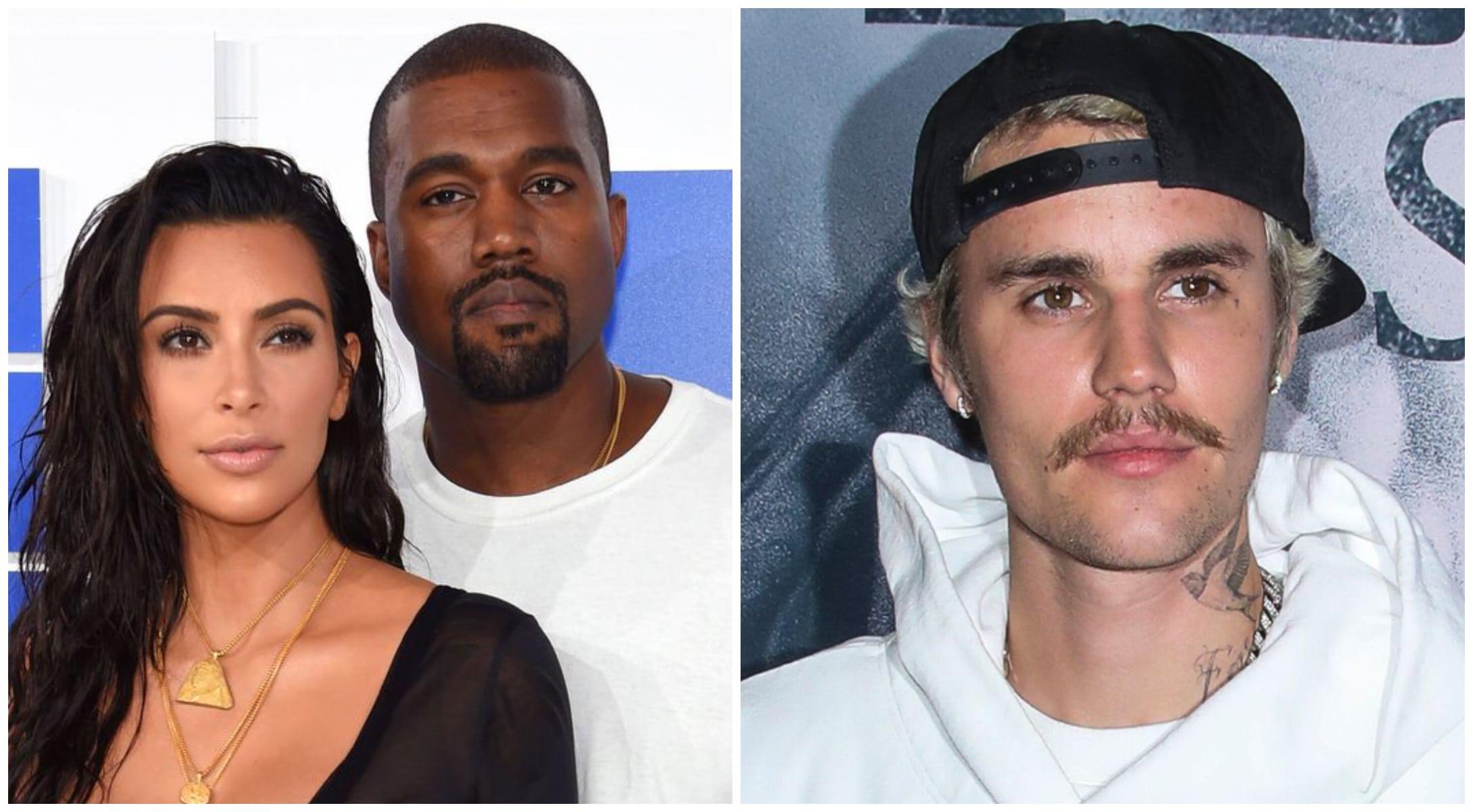Kim Kardashian et Kanye West au bord de la rupture : Justin Bieber décide d'agir