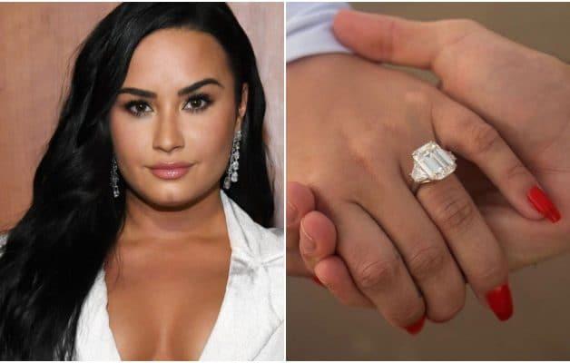 Demi Lovato fiancée : l'impressionnant prix de sa bague de fiançailles annoncé