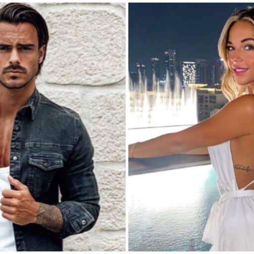 Benjamin Samat : aperçu très complice aux cotés de Maddy Burciaga à Dubaï