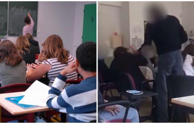 Coronavirus : un prof craque et gifle un élève qui refusait de mettre un masque en classe