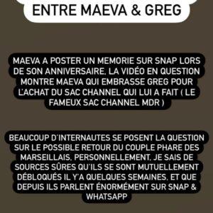 Maeva Ghennam et Greg Yega : ils se rapprochent discrètement