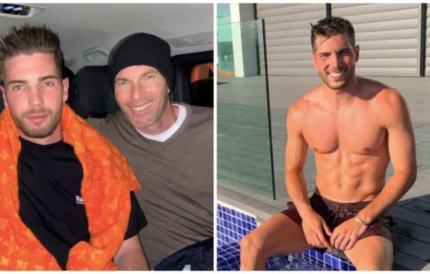 Zinédine Zidane : son fils Luca fou amoureux, il présente sa sublime petite-amie