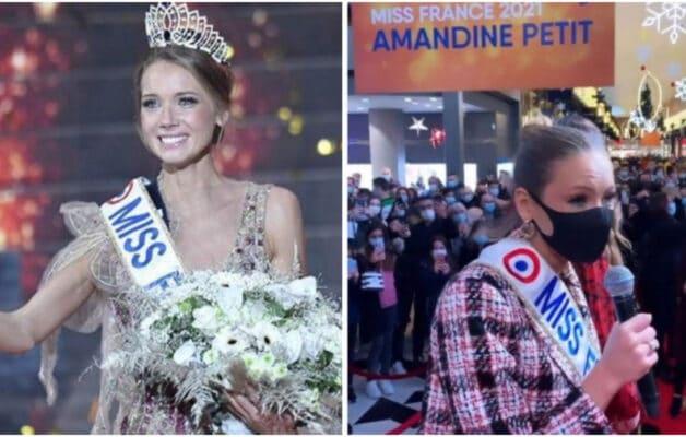 Miss France 2021 tente de se défendre après la cohue lors de son passage en Moselle