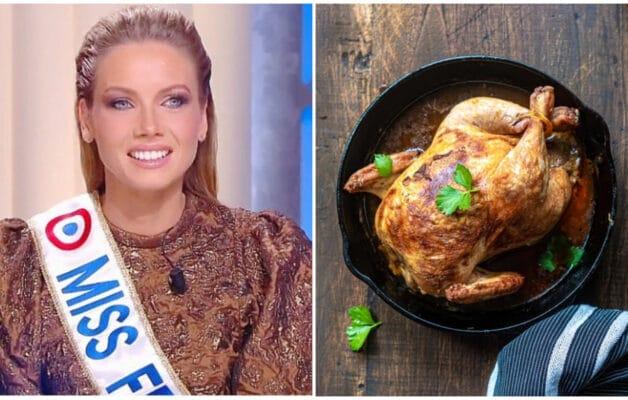 Amandine Petit dans l'appartement des Miss France : elle a failli finir comme un 'poulet rôti'