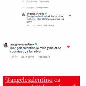Angele (LVDA) : Raphaël Pépin l'a menacée et a essayé de la frapper,  elle balance tout