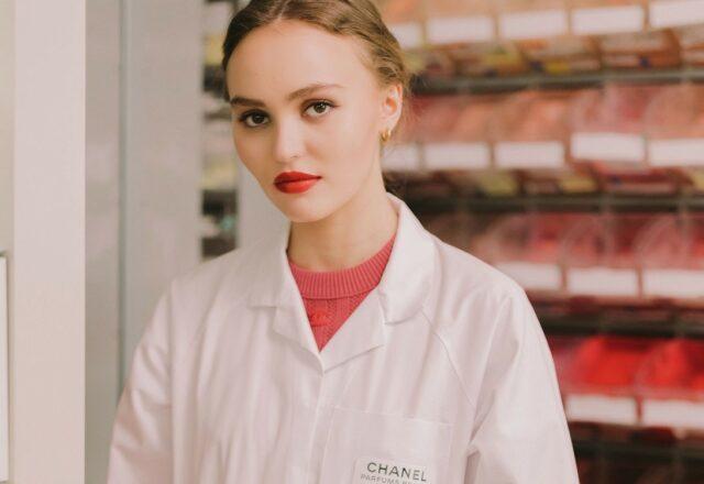 Lily-Rose Depp Chanel