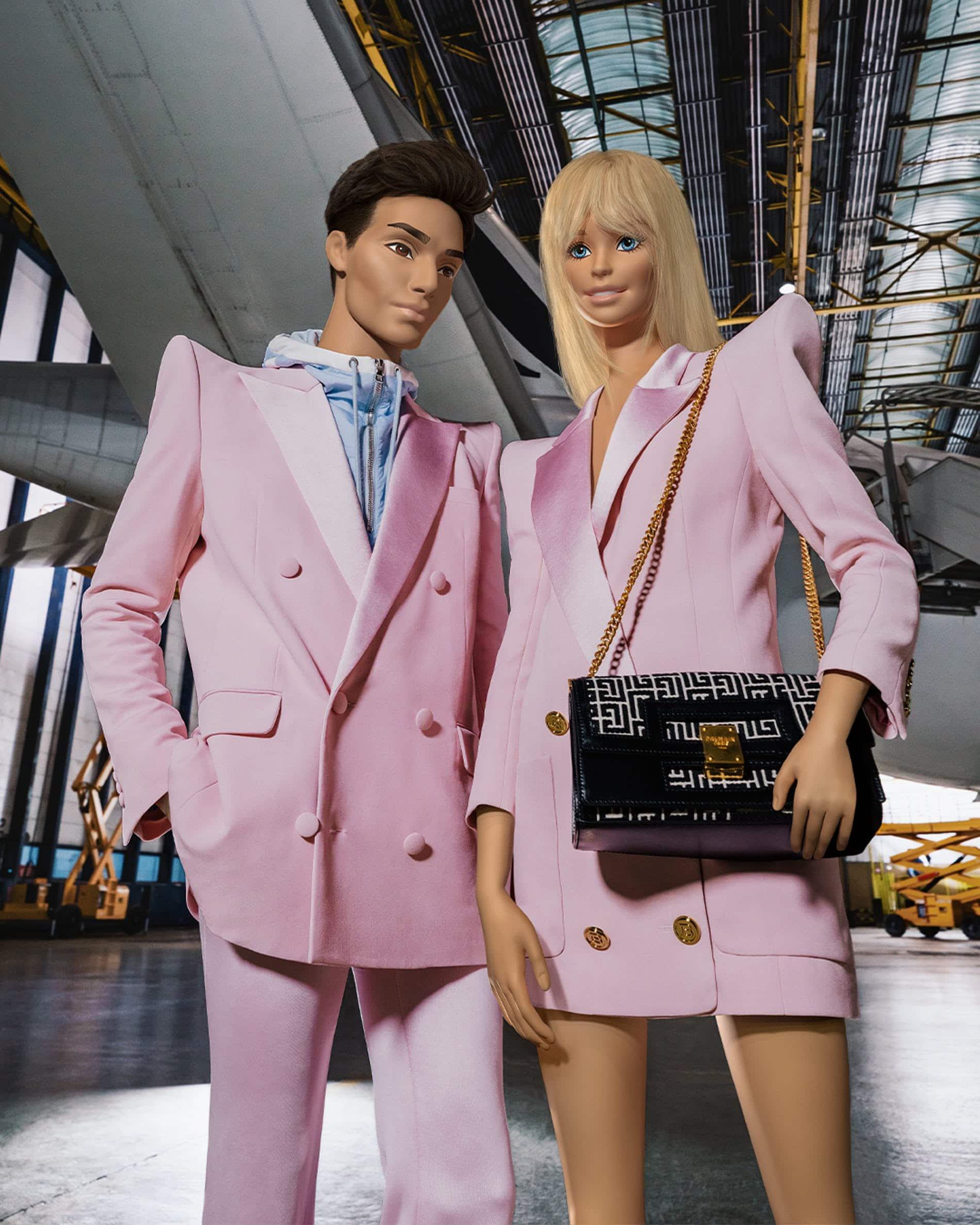 Balmain et Barbie