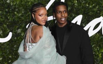 Rihanna et A$AP Rocky en couple : une trace de rouge à lèvres met tout le monde d'accord