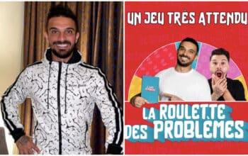 """Julien Tanti : il sort officiellement son jeu """"la roulette des problèmes"""""""