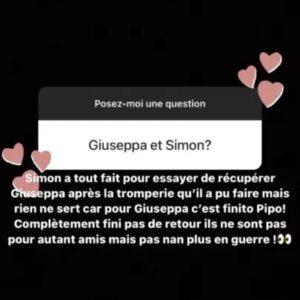 Simon Castaldi (ORDM) : il veut se remettre en couple avec Giuseppa mais elle tourne la page