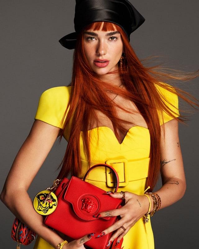 Versace et Dua Lipa