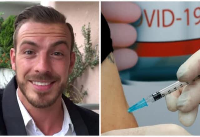 Julien Bert : il prend à nouveau position contre les vaccins anti-Covid 19