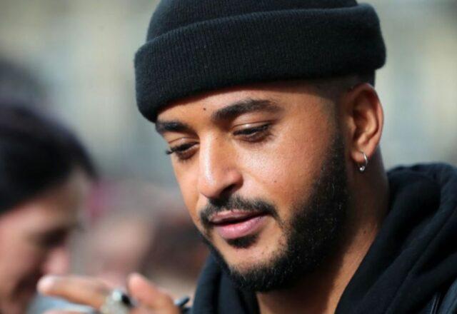 Slimane : le chanteur semble fier de sa nouvelle musculature