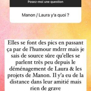 Laura Lempika et Manon Tanti en froid ? Leur relation se serait détériorée